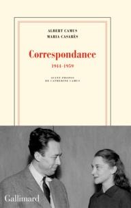 Livres à téléchargement gratuit grec Correspondance  - 1944-1959 par Albert Camus, Maria Casarès  in French 9782072746185