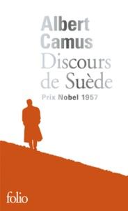Téléchargement gratuit des livres de comptes pdf Discours de Suède 9782072760839