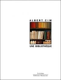 Albert Cim - Une bibliothèque.
