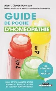 Albert-Claude Quemoun - Guide de poche d'homéopathie.