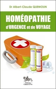 Albert-Claude Quemoun - Homéopathie d'urgence et de voyage.