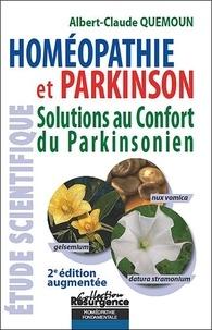Albert-Claude Quemoun - Homéopathie et Parkinson - Solutions au confort du Parkinsonien.