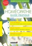 Albert-Claude Quemoun - Homéopathie - Guide pratique.