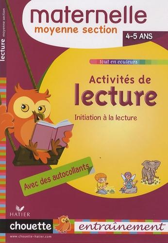 Albert Cohen et Jean Roullier - Activités de lecture MS - 4-5 ans.