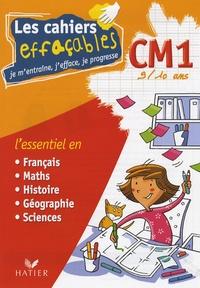 Albert Cohen et Jean Roullier - Les cahiers effaçables CM1 - Je m'entraîne, j'efface, je progresse.