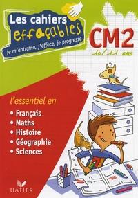 Albert Cohen et Jean Roullier - Les cahiers effaçables CM2 - Je m'entraîne, j'efface, je progresse.