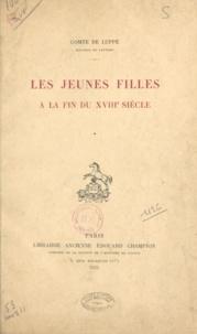 Albert de Luppé - Les jeunes filles à la fin du XVIIIe siècle.