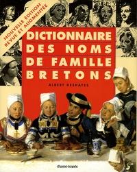 Albert Deshayes - Dictionnaire des noms de famille bretons.