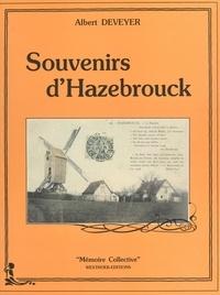 Albert Deveyer - Souvenirs d'Hazebrouck.