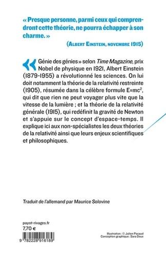 La Relativité. Théorie de la relativité restreinte et générale. La relativité et le problème de l'espace