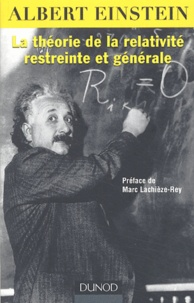 Histoiresdenlire.be La théorie de la relativité restreinte et générale - Suivi de La relativité et le problème de l'espace Image