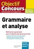 Albert Hamon - Grammaire et analyse - Epreuves écrites.