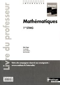 Albert Hugon - Mathématiques 1re STMG - Livre du professeur.