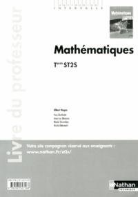 Albert Hugon - Mathématiques Tle ST2S - Livre du professeur.
