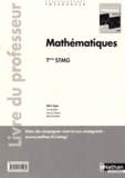 Albert Hugon - Mathématiques Tle STMG - Livre du professeur.