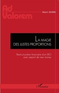Albert Journo - La magie des justes proportions - Restructuration financière d'un LBO avec apport de new money.