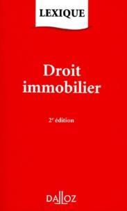 Galabria.be DROIT IMMOBILIER. 2ème édition 1994 Image