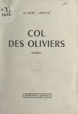 Albert Lentin - Col des oliviers.