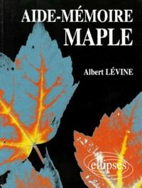 Albert Levine - Aide-mémoire Maple.