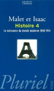 Galabria.be Histoire - Tome 4, La naissance du monde moderne 1848-1914 Image