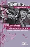 Albert Mathiez - Révolution russe et révolution française.