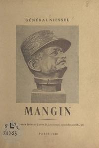 Albert Niessel - Mangin - Conférence faite au lycée Saint-Louis aux candidats à St-Cyr.