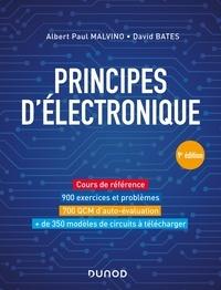 Albert Paul Malvino et David J. Bates - Principes d'électronique - 9e éd. - Cours et exercices corrigés.