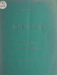 Albert Ricaud - Marmande - Contribution à l'histoire locale.