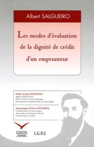Albert Salgueiro - Les modes d'évaluation de la dignité de crédit d'un emprunteur.