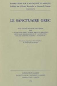 Albert Schachter et Emily Kearns - Le sanctuaire grec - Huit exposés suivi de discussions.