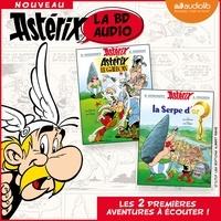 Albert Uderzo et René Goscinny - Astérix - La BD audio Tome 1 : Astérix le Gaulois ; La serpe d'or.