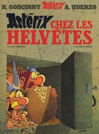 Albert Uderzo et René Goscinny - Astérix Tome 16 : Astérix chez les Helvètes.
