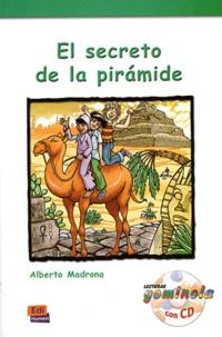 Alberto Madrona - El secreto de la piramide. 1 CD audio