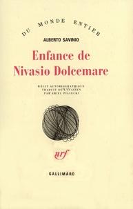 Alberto Savinio - Enfance de Nivasio Dolcemar.
