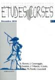 Michel Casta - Etudes corses N° 71, Décembre 2010 : .
