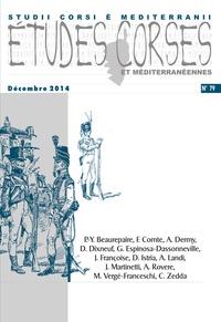 Albiana - Etudes corses N° 79, décembre 2014 : .