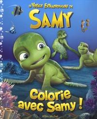 Albin Michel - Colorie avec Samy !.