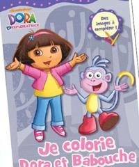 Albin Michel - Colorie Dora et ses amies.