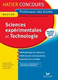 Feriasdhiver.fr Sciences expérimentales et Technologie - Epreuve écrite d'admissibilité Image