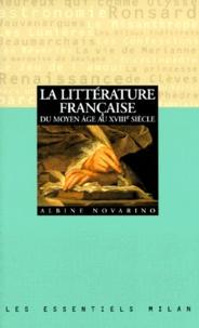 Checkpointfrance.fr La littérature française du Moyen âge au XVIIIe siècle Image