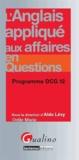 Aldo Levy - L'anglais appliqué aux affaires en questions - Programme DCG 12.