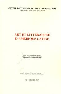 Alejandro Canseco-Jerez - Art et littérature d'Amérique latine.