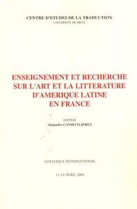 Alejandro Canseco-Jerez - Enseignement et recherche sur l'art et la littérature d'Amérique latine en France.