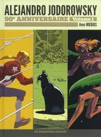 Alejandro Jodorowsky et  Moebius - Alejandro Jodorowsky 90e anniversaire Tome 1 : Les yeux du chat ; L'Incal ; Au coeur de l'inviolable méta-bunker.