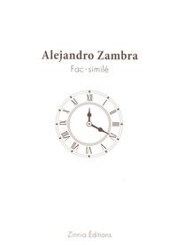 Alejandro Zambra - Fac-similé - Livre d'exercices.