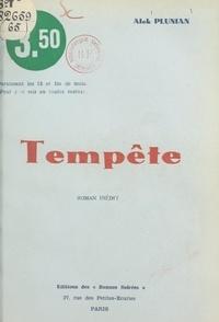 Alek Plunian - Tempête.