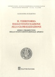 Alessandra Di Martino - Il territorio della stato nazione alla globalizzazione.
