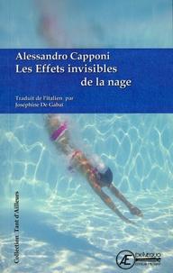 Alessandro Capponi - Les effets invisibles de la nage - Nouvelles.