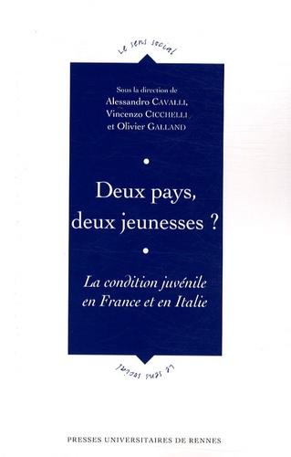 Alessandro Cavalli et Vincenzo Cicchelli - Deux pays, deux jeunesses ? - La condition juvénile en France et en Italie.