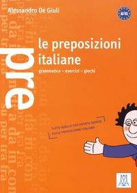 Alessandro De Giuli - Le preposizioni italiane.